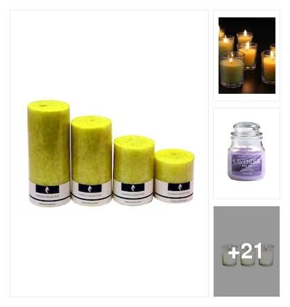 BRIGHT  CANDLES  FOR  HOME. Online shopping look by Mamatha