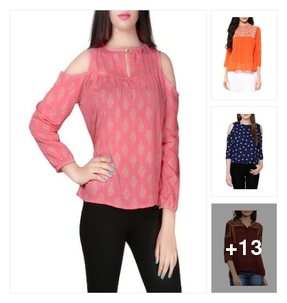 Beautiful tops. Online shopping look by sreenath.kokkanti