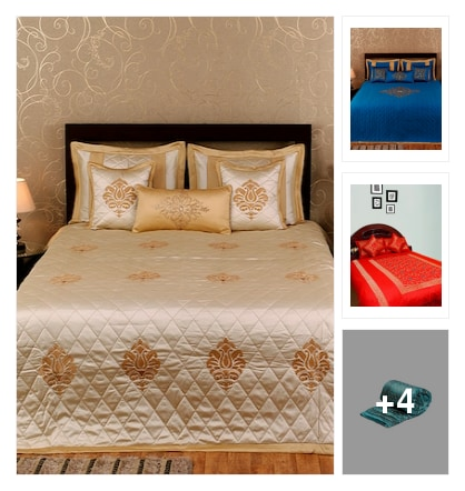 Silk bed sheets . Online shopping look by Patas