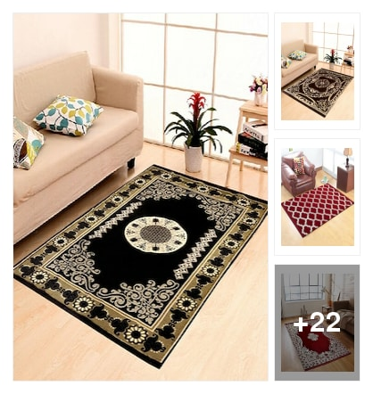 Beautiful Carpets under 1000. Online shopping look by SHwetha