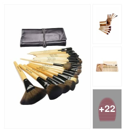 Professional Makeup Brush Set With Kit. Online shopping look by Sheetal