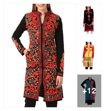 Wool Kurta. Online shopping look by SoniJaist