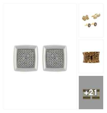 HANDSOME  CUFFLINKS  FOR  YOU. Online shopping look by krishna