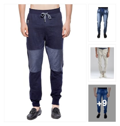 joggers for men. Online shopping look by ezra