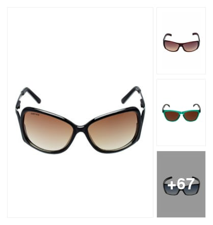 Sunglasses By Limeroad . Online shopping look by Pooja