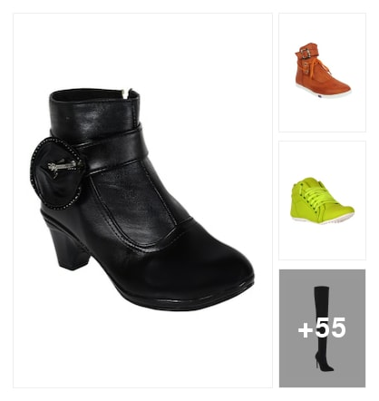 BOOTS FOR LADIES. Online shopping look by raghava
