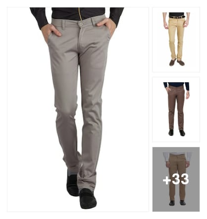 Stylish Trousers. Online shopping look by sravana