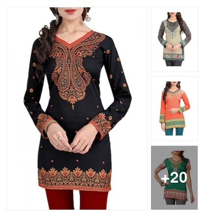 #kurta. Online shopping look by Sarita