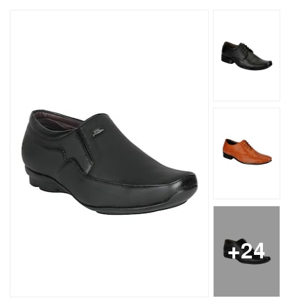 Man formal shoes. Online shopping look by meenu