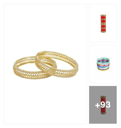 bangles. Online shopping look by mahesh