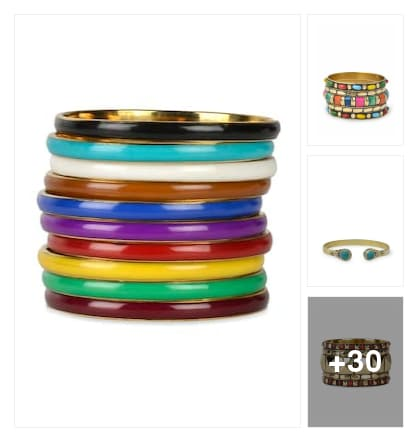 Bangles. Online shopping look by Ekta