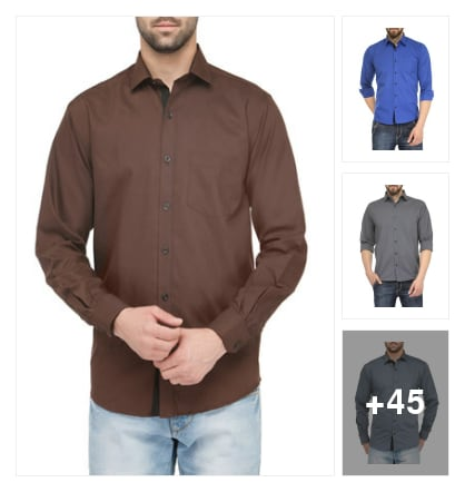 NICE SHIRTS FOR MEN. Online shopping look by raghava