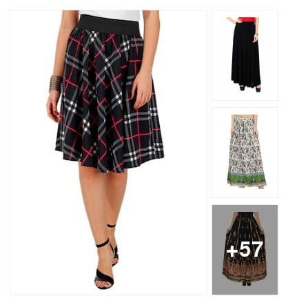 nice skirts &shirts. Online shopping look by manveda