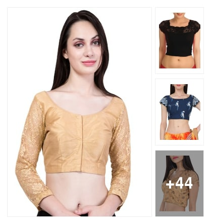Girl's New Style Blouses. Online shopping look by deepa