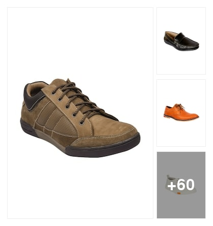 CASUAL SHOES FOR MEN. Online shopping look by raghava