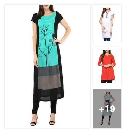 Kurtas. Online shopping look by Teju