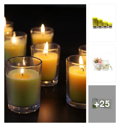 BRIGHT  CANDLES   FOR HOME. Online shopping look by Lakshmi