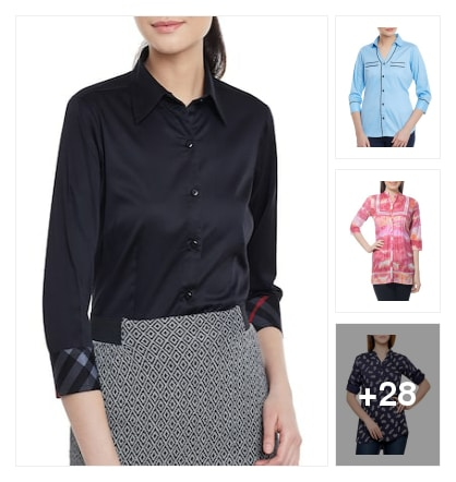 atractive shirts. Online shopping look by Subha
