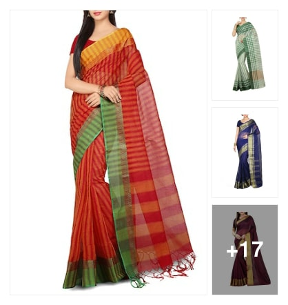 Cotton sarees collection . Online shopping look by Ramaprasad