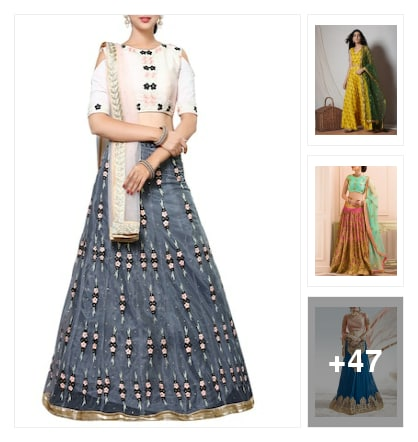 My style boutique ..lehengaa. Online shopping look by abi