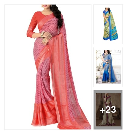 Pretty sarees collection . Online shopping look by Ramaprasad