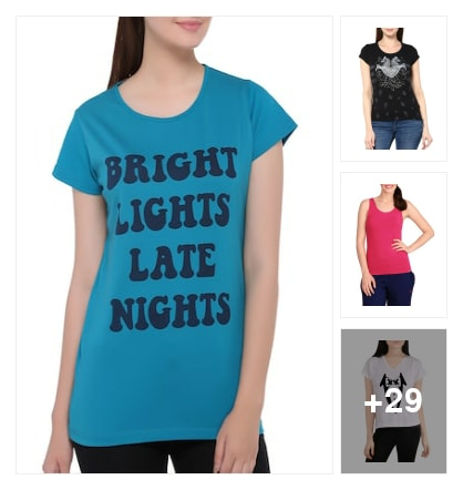 TEES FOR GIRLS. Online shopping look by Krish  ♥  Stylish