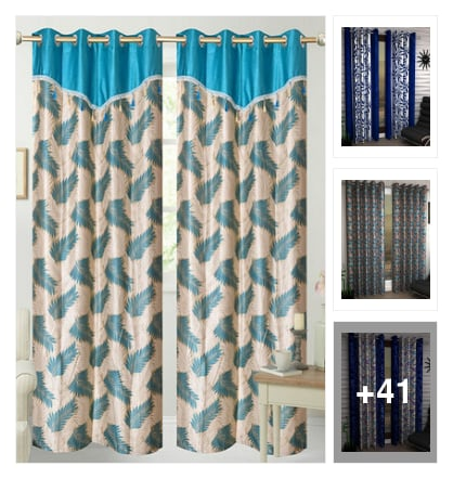 Beautiful curtains . Online shopping look by konda