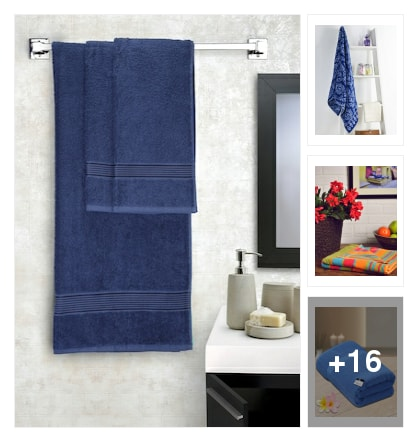 Towels. Online shopping look by Afrin