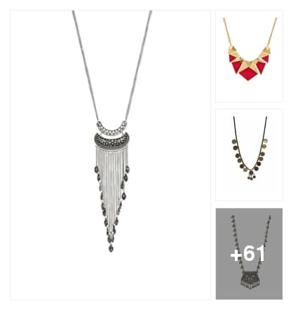 LOVELY NECKPIECES. Online shopping look by narayan