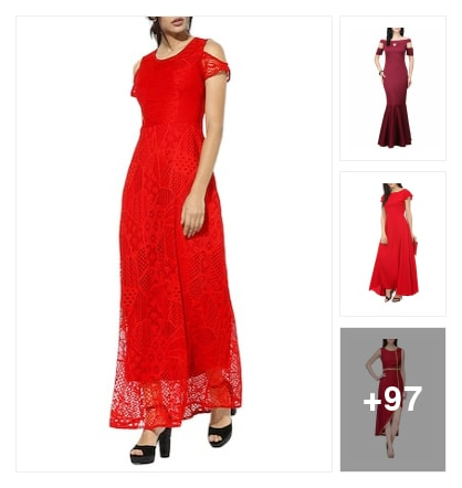 ❤Red Magic❤. Online shopping look by 💚❤Padmini❤💚