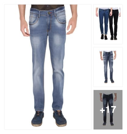 jeans for men. Online shopping look by kavya