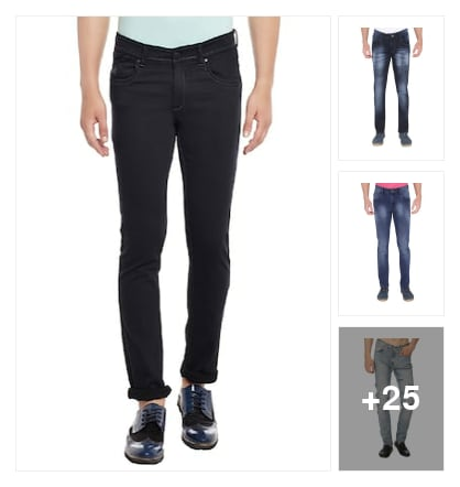 HANDSOME JEANS. Online shopping look by Prakasham