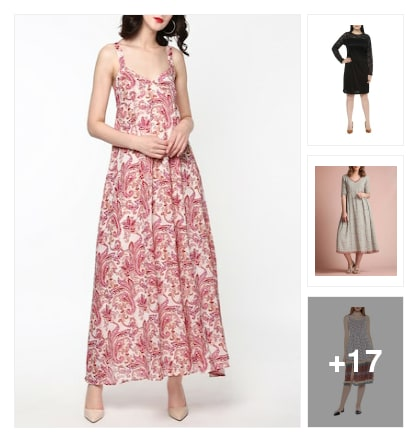 modern fall dresses. Online shopping look by Harika