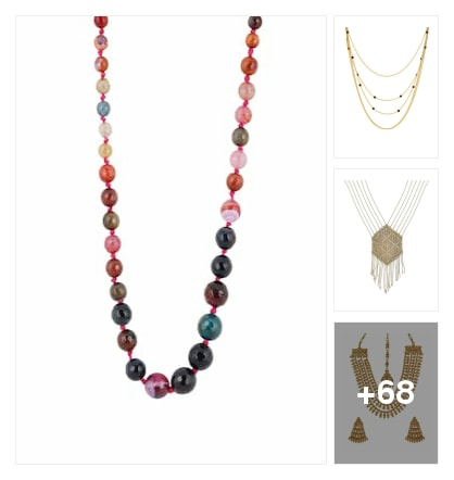 Neckpieces Collotions. Online shopping look by Pooja