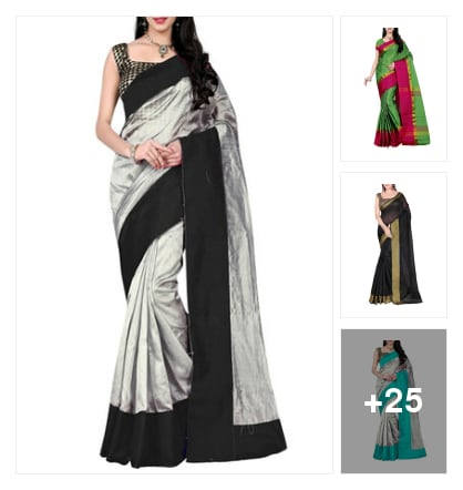 Beautiful lime road sarees. Online shopping look by chinna