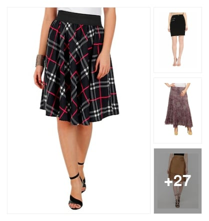 Pretty Skirts . Online shopping look by Vijji