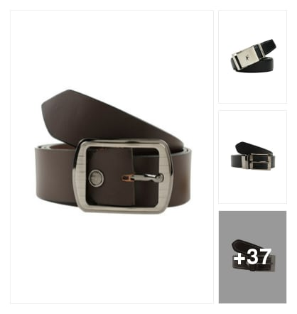 Belts for men. Online shopping look by vikranth