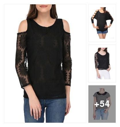 most wanted in all season - BLACK. Online shopping look by Namrata