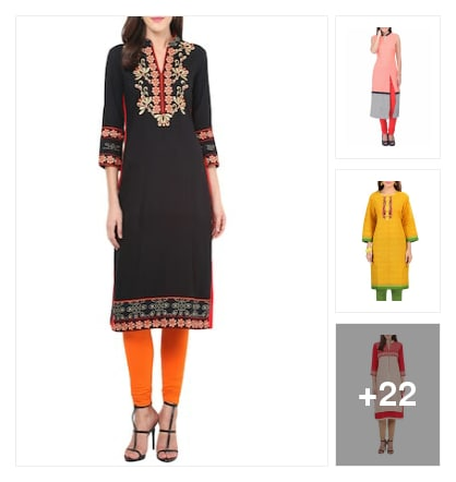 #new looking kurtis. Online shopping look by Kriti