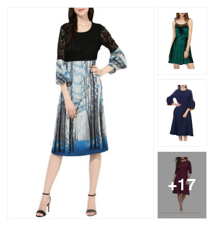 #super looking dresses . Online shopping look by Kriti