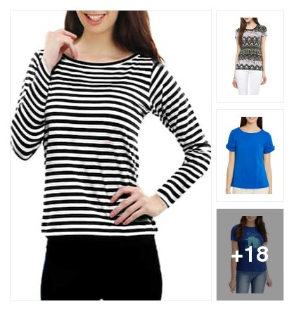 #tees for regue use. Online shopping look by Kriti