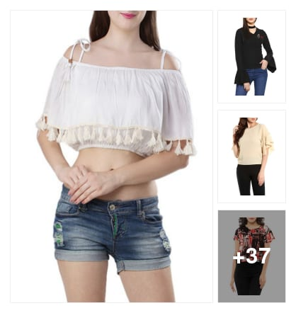 Must have tops. Online shopping look by Nikita