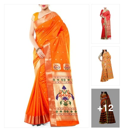 #sarees. Online shopping look by joya
