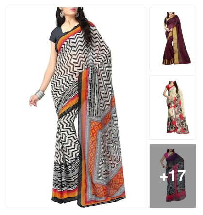 Sarees. Online shopping look by sebby