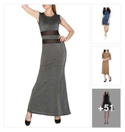 New Style Dresses For Beautiful Girls. Online shopping look by deepa