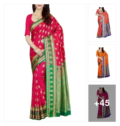 Festival saree collection . Online shopping look by Asim Kumar