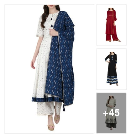 Beautiful Collection. Online shopping look by Vaishnavi