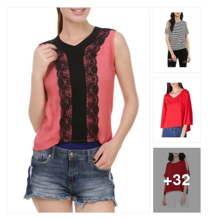CUTE TOPS. Online shopping look by Krish  ♥  Stylish