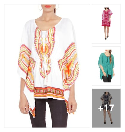 NICE KAFTANS. Online shopping look by kavya