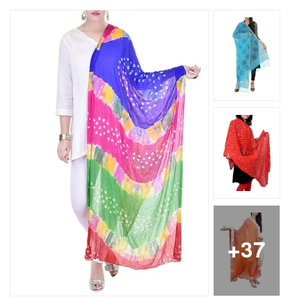 Lovely dupattas. Online shopping look by Patas